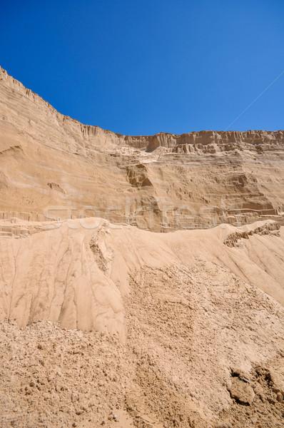 sand pit and blue sky Stock photo © vlaru