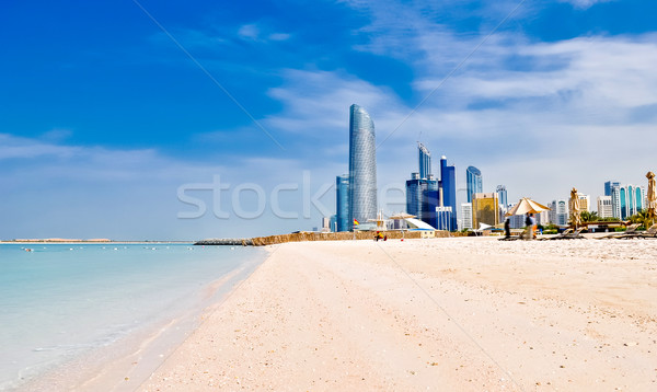 beach in Abu Dhabi, UAE Stock photo © vlaru