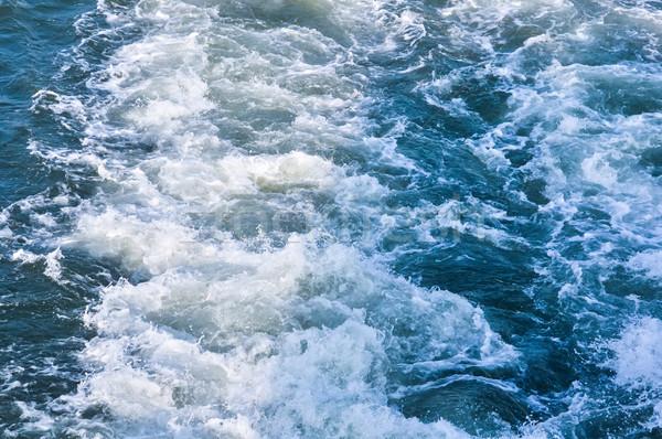 Su pervane deniz gemi soyut doğa Stok fotoğraf © vlaru
