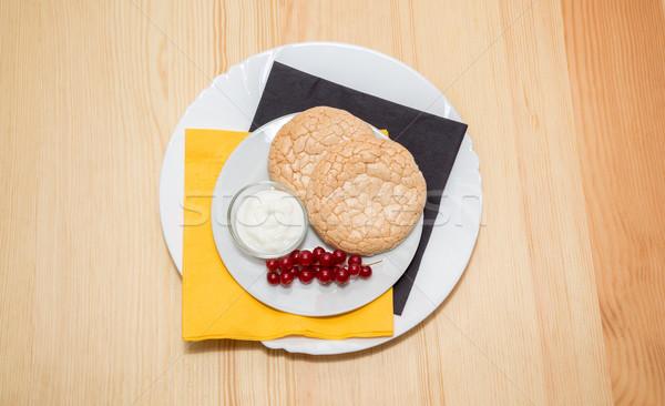 biscuits  Stock photo © vlaru