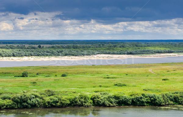 cloudy landscape Stock photo © vlaru