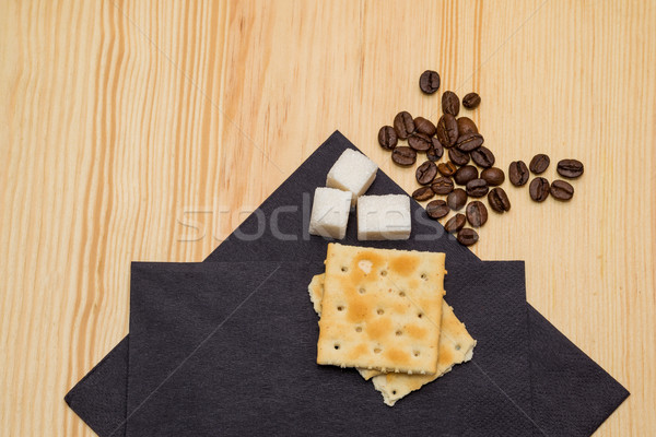 cookies and coffee Stock photo © vlaru
