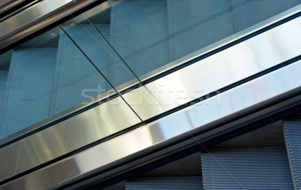 close up of escalator steps Stock photo © vlaru