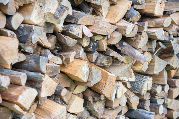 Száraz aprított tűzifa köteg textúra absztrakt Stock fotó © vlaru