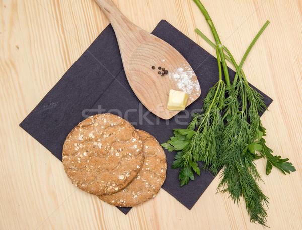 Biscotti ancora vita alimentare torta pane Foto d'archivio © vlaru