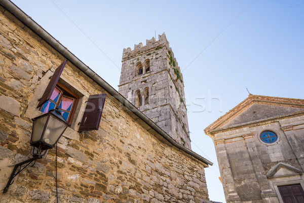 stone buildings in the old town Stock photo © vlaru