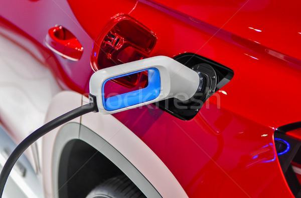 electric vehicle charging Stock photo © vlaru