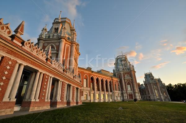 Tsaritsino palace. Moscow. Russia. Stock photo © vlaru