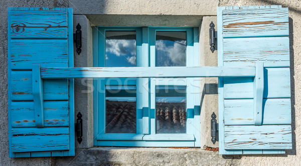 old window with shutters  Stock photo © vlaru