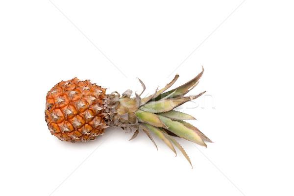fresh pineapple on white background Stock photo © vlaru