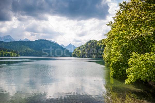 majestic mountain landscape Stock photo © vlaru