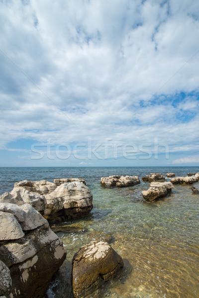 sunny day on the Adriatic coast Stock photo © vlaru