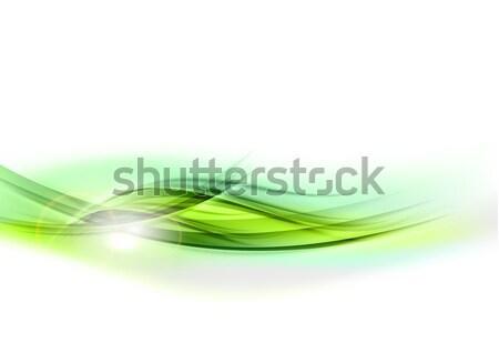 зеленый белый искусства пространстве Сток-фото © vlastas
