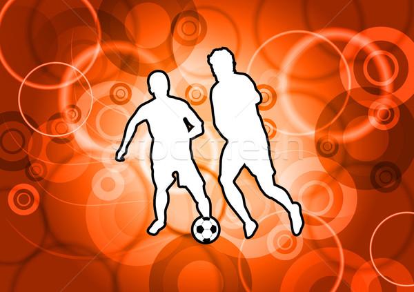 fire football Stock photo © vlastas