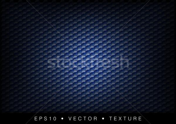 Hexagone texture bleu faible technologie Photo stock © vlastas