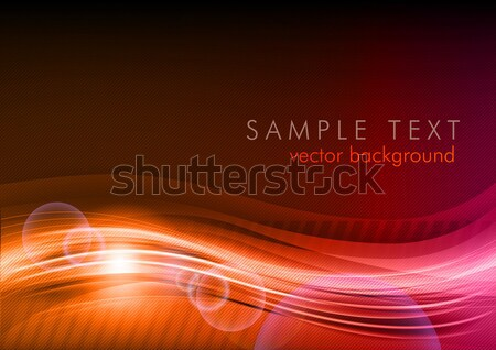 Rood golf abstract kleur ontwerp kunst Stockfoto © vlastas