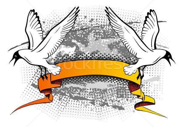 seagulls Stock photo © vlastas