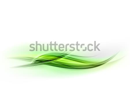 green wave Stock photo © vlastas