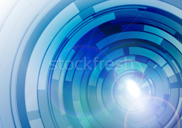 аннотация Crazy синий пространстве свет фон Сток-фото © vlastas