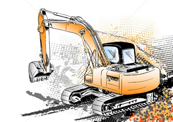 excavator Stock photo © vlastas