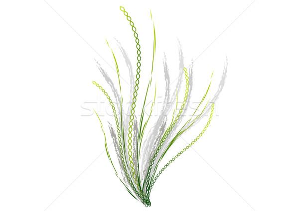 цветок ДНК белый дизайна фон искусства Сток-фото © vlastas
