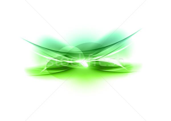 緑 芸術 オレンジ スペース 波 ストックフォト © vlastas