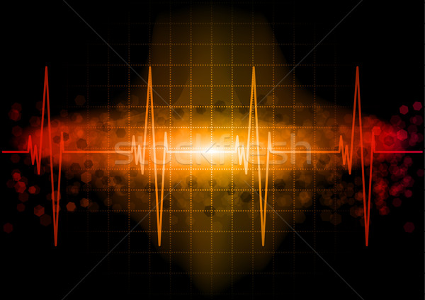 Stock photo: heartbeat