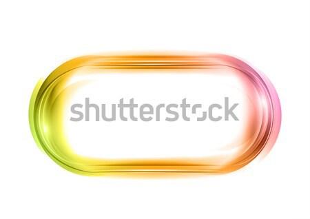 Fond web vert blanche propre graphique Photo stock © vlastas