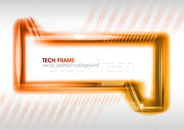 красный кадр компьютер интернет фон пространстве Сток-фото © vlastas