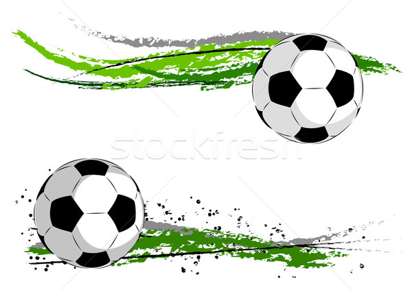 Calcio verde abstract erba sport design Foto d'archivio © vlastas