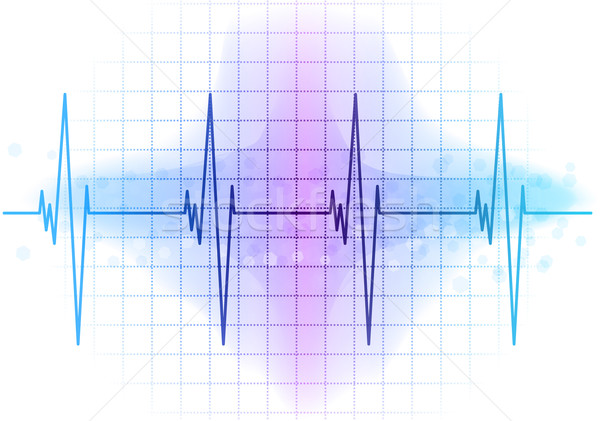 ekg diagram Stock photo © vlastas