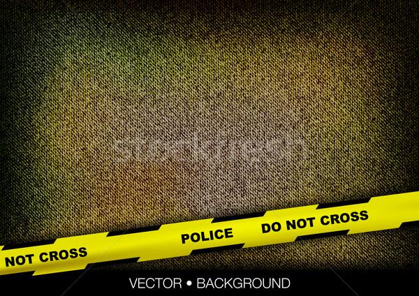 police tape Stock photo © vlastas