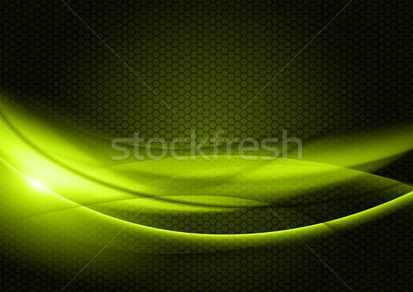 Groene abstract donkere ontwerp kunst Stockfoto © vlastas