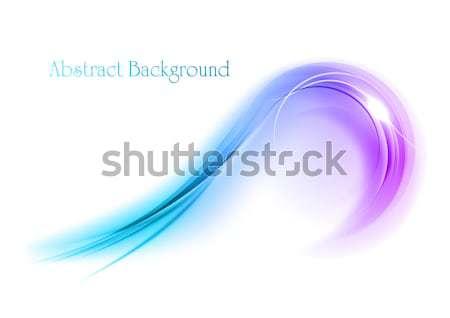 Açık mavi süs beyaz sanat uzay enerji Stok fotoğraf © vlastas