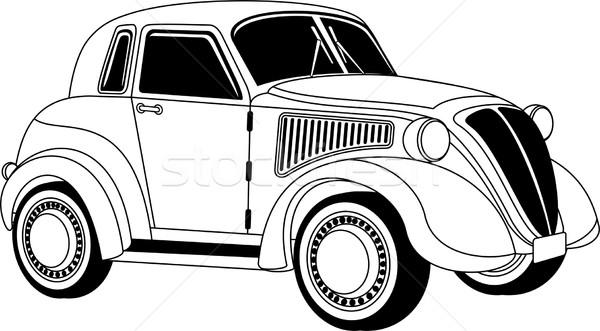 Old vintage car Stock photo © Volina