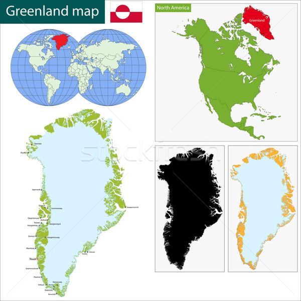 Mapa alto detalle precisión geografía Foto stock © Volina