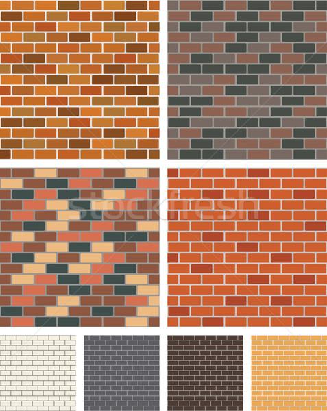 Brick wall Stock photo © Volina