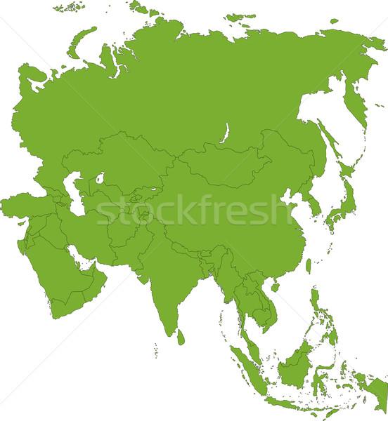 Asia Stock photo © Volina