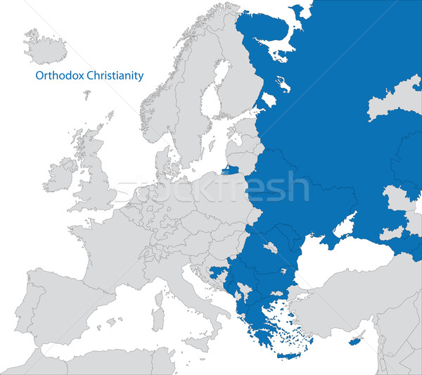 Eastern Orthodoxy in Europe Stock photo © Volina