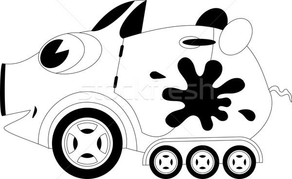 Cartoon car Stock photo © Volina