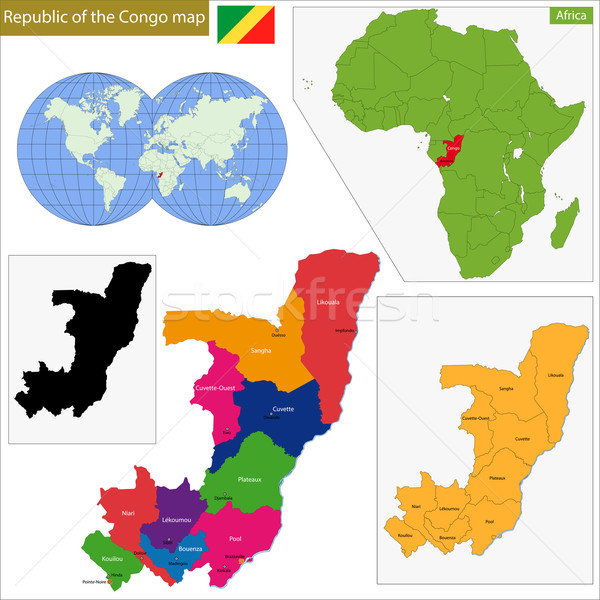 Republic of the Congo Stock photo © Volina