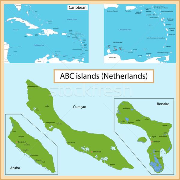 ABC Islands Stock photo © Volina