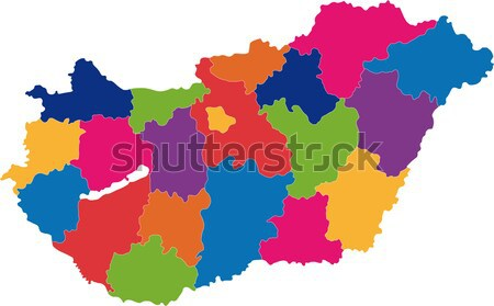 Bulgaria map Stock photo © Volina