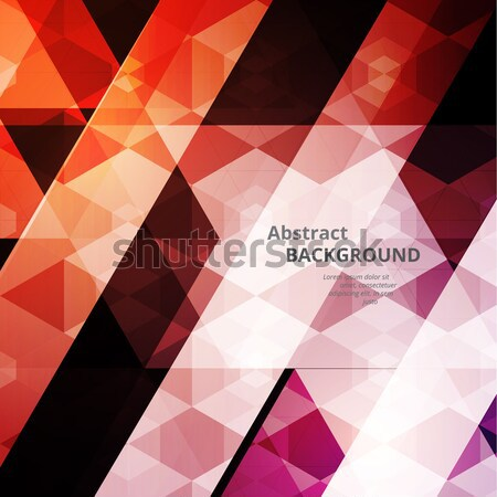 Abstract Triangular Background Stock photo © VolsKinvols