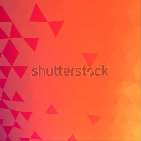 Triangles mosaic vector background Stock photo © VolsKinvols