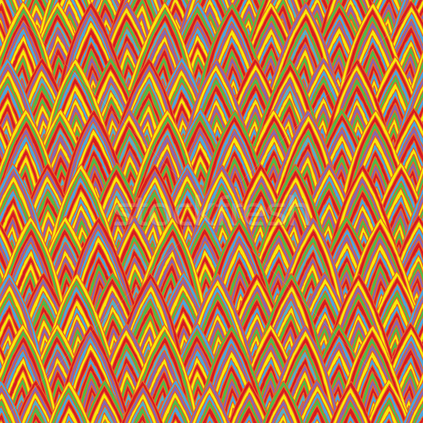 Funky triangles seamless pattern Stock photo © VOOK