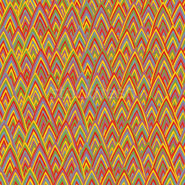 Funky цветами рисованной иллюстрация eps8 Сток-фото © VOOK