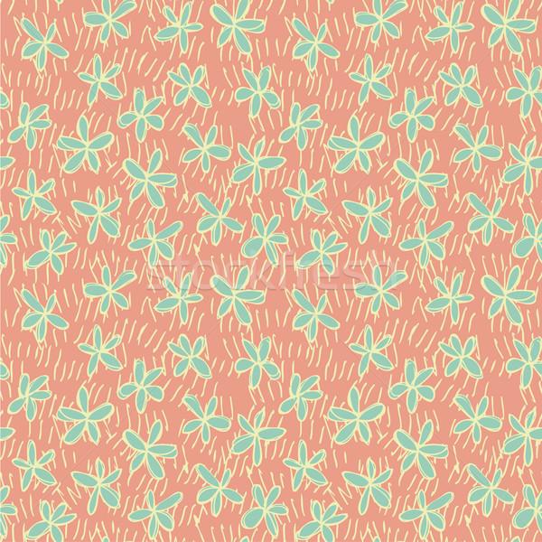 フローラル 反復的な ピンク 実例 eps8 ストックフォト © VOOK