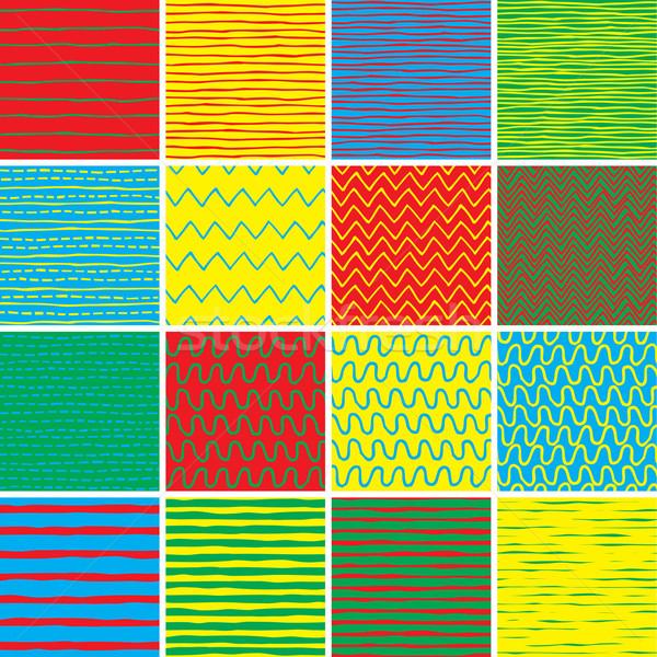 基本 いたずら書き セット 色 コレクション ストックフォト © VOOK