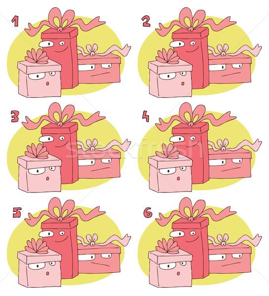 матча игры подарки задача находить два Сток-фото © VOOK